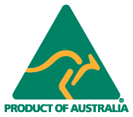 Product of Australia full colour logo