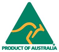 Product of Australia full colour logo